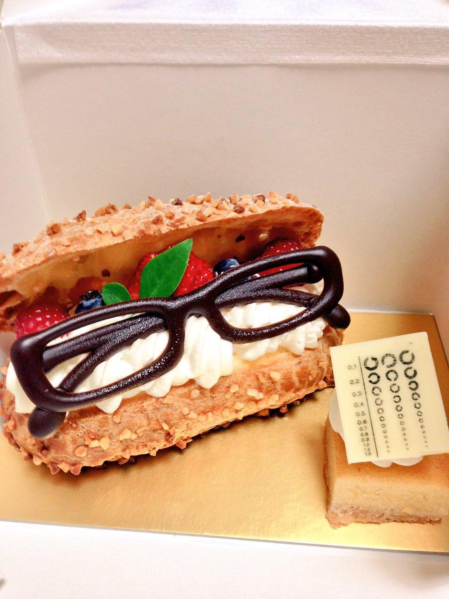 メガネブのコラボケーキのクオリティーの高さをメガネクラスタさんに敢えて再確認して欲しい。