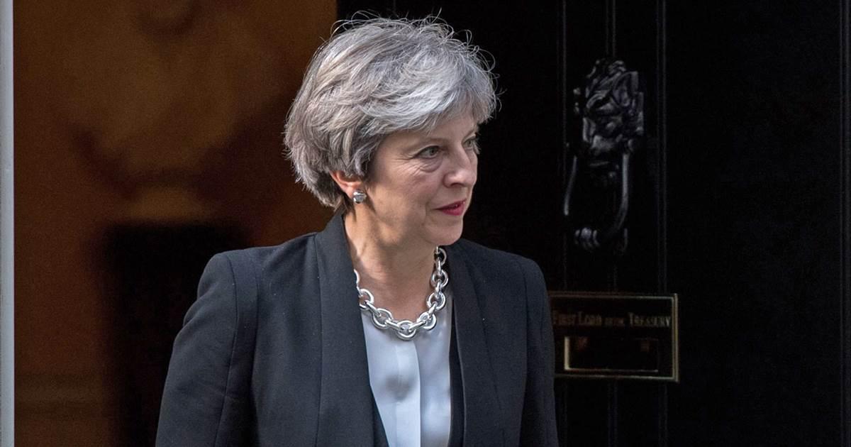 British PM May rebukes President Trump over London police terrorism tweet
