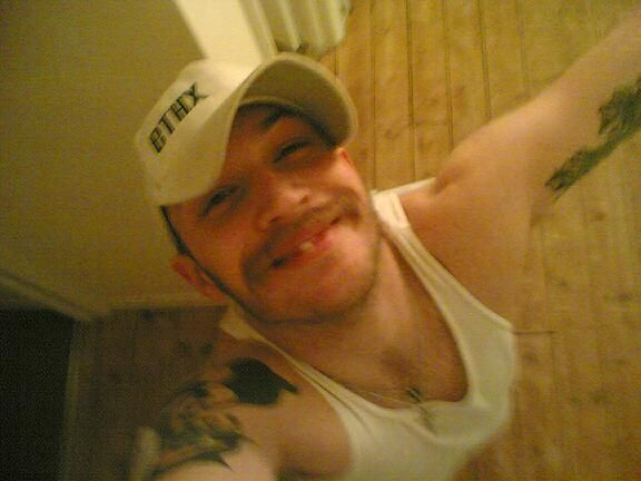 Happy birthday Tom Hardy!  also it is a good day to revisit his MySpace pictures :)