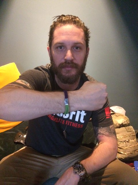 Happy 40th Birthday to our wonderful patron Tom Hardy!