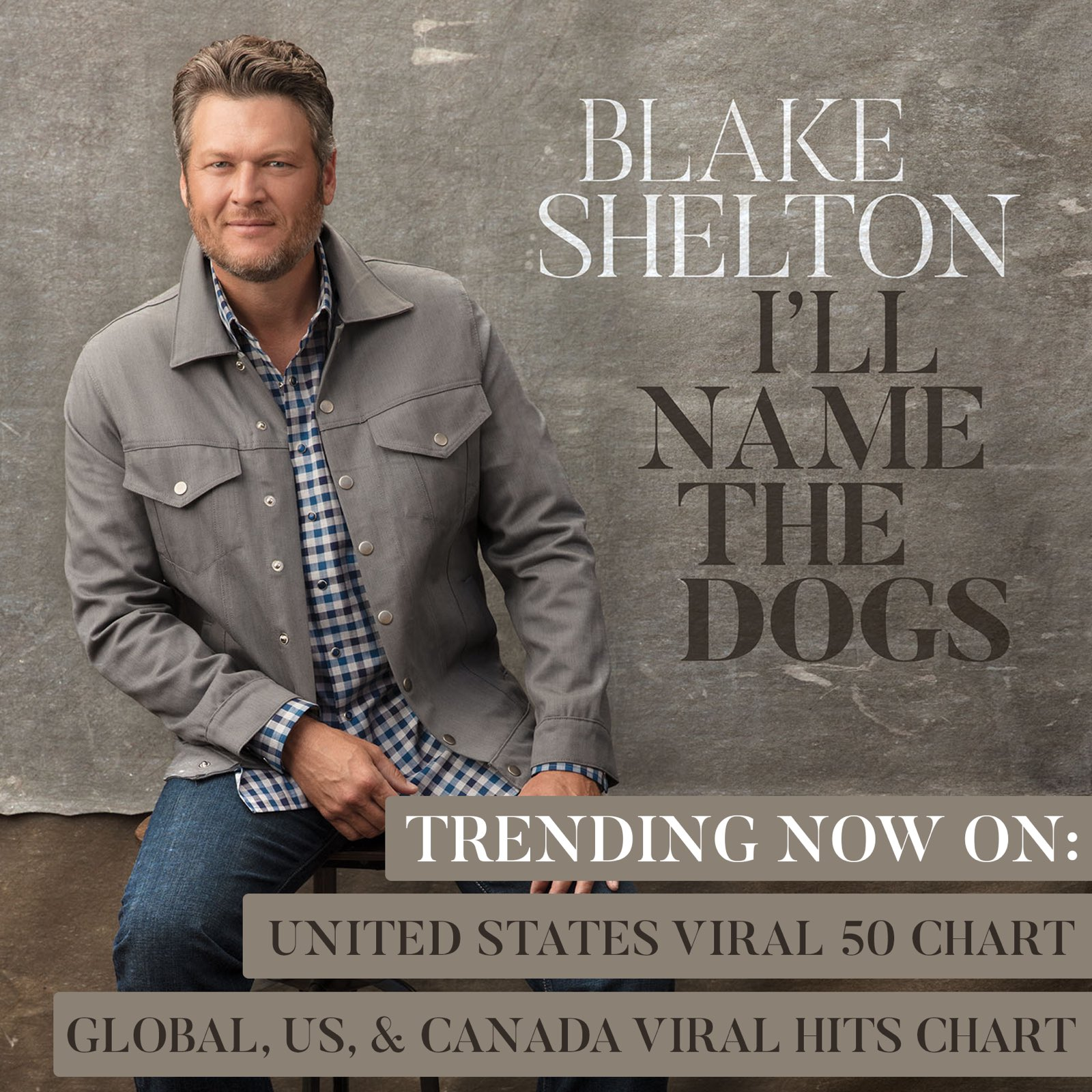 Damn!! Glad y'all like this tune as much as I do.. love y'all #IllNameTheDogs @Spotify https://t.co/1EFoRhs9mS
