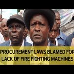 Procurement laws blamed for lack of fire fighting machines