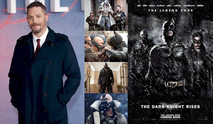 Hoy cumple 40 años Tom Hardy (Bane en Happy Birthday