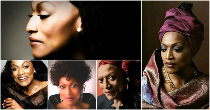 Happy Birthday to Jessye Norman (born September 15, 1945)