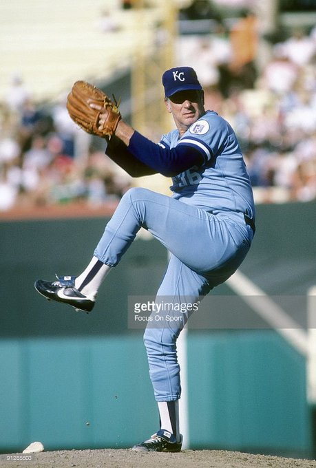 Happy Birthday to former Kansas City Royal Gaylord Perry(1984), who turns 79 today!