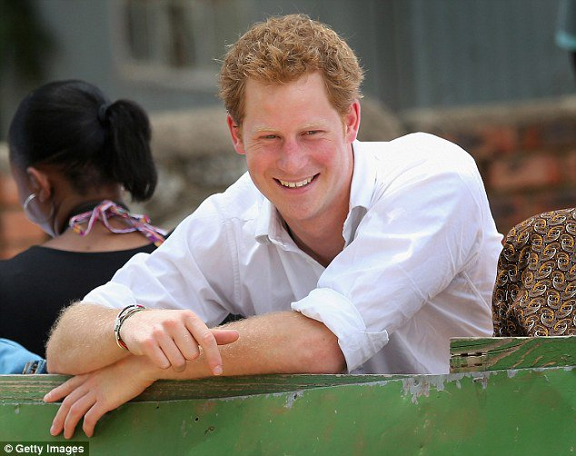 Happy 33rd Birthday, Prince Harry!