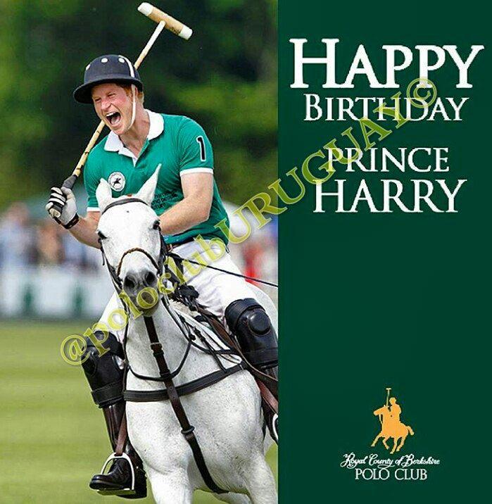Happy Birthday HRH Prince Harry!!