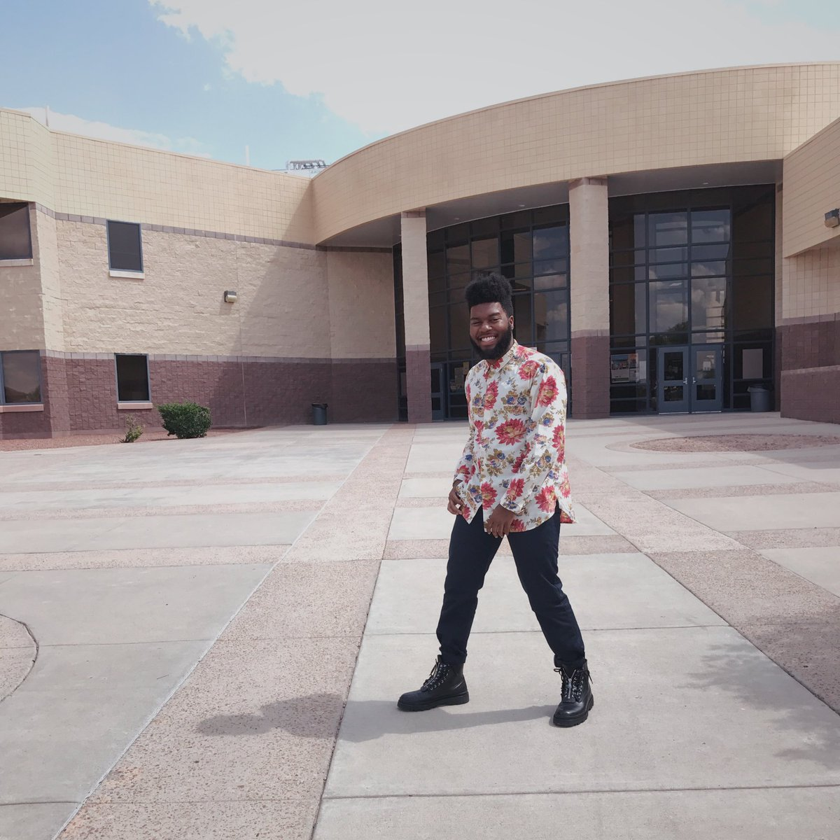 visited my old high school AHS thegreatkhalid