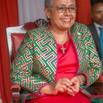 Margaret Kenyatta hits the campaign trail hard for her hubby's re-election (photo)