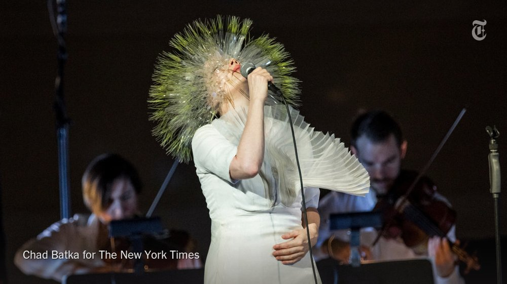 The Playlist: Björk rediscovers love and 10 more new songs https://t.co/1nCEeP8fwX https://t.co/32JNuoEPb1