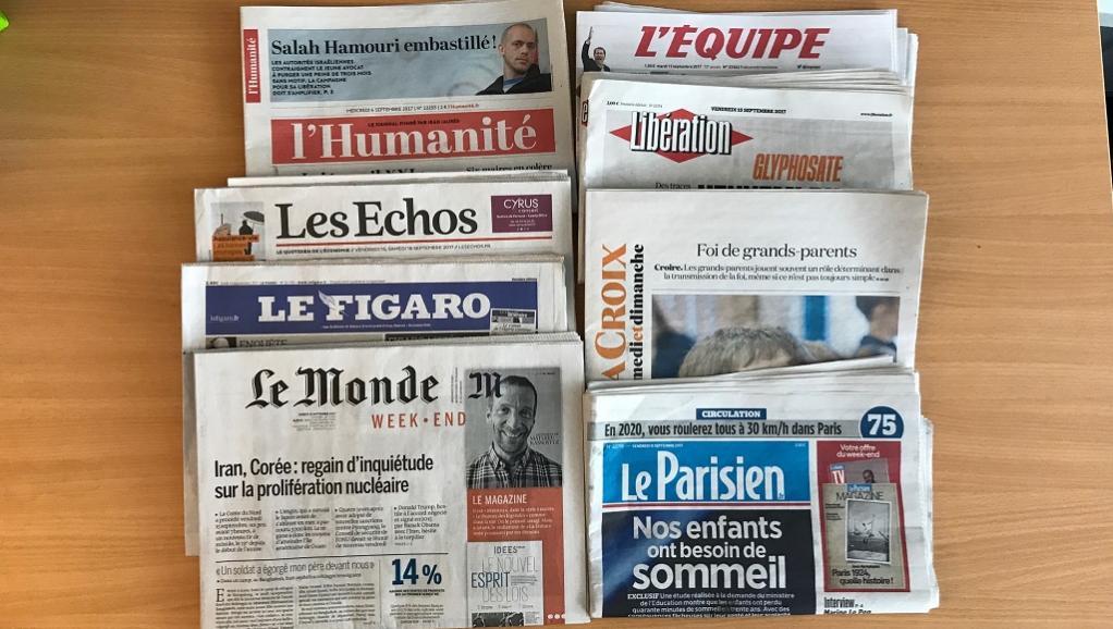 France: la presse quotidienne nationale relève la tête https://t.co/dQymN87AeG https://t.co/xGluLX9fpj