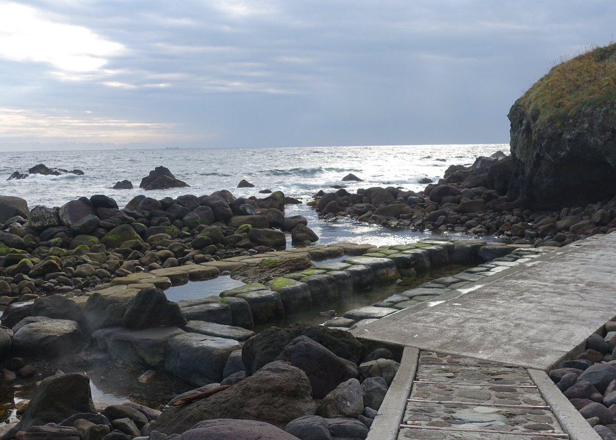 ばくおん!!紀行(聖地巡礼)。わぁっ海とつながった温泉!!#ばくおん