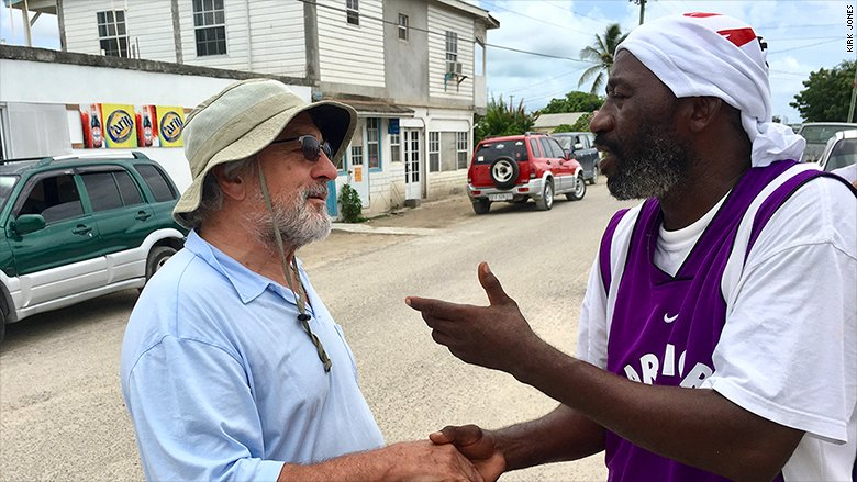Robert De Niro wants to help rebuild Barbuda after Hurricane Irma
