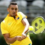 'Not serious' Kyrgios pulls Aussies level in Davis Cup