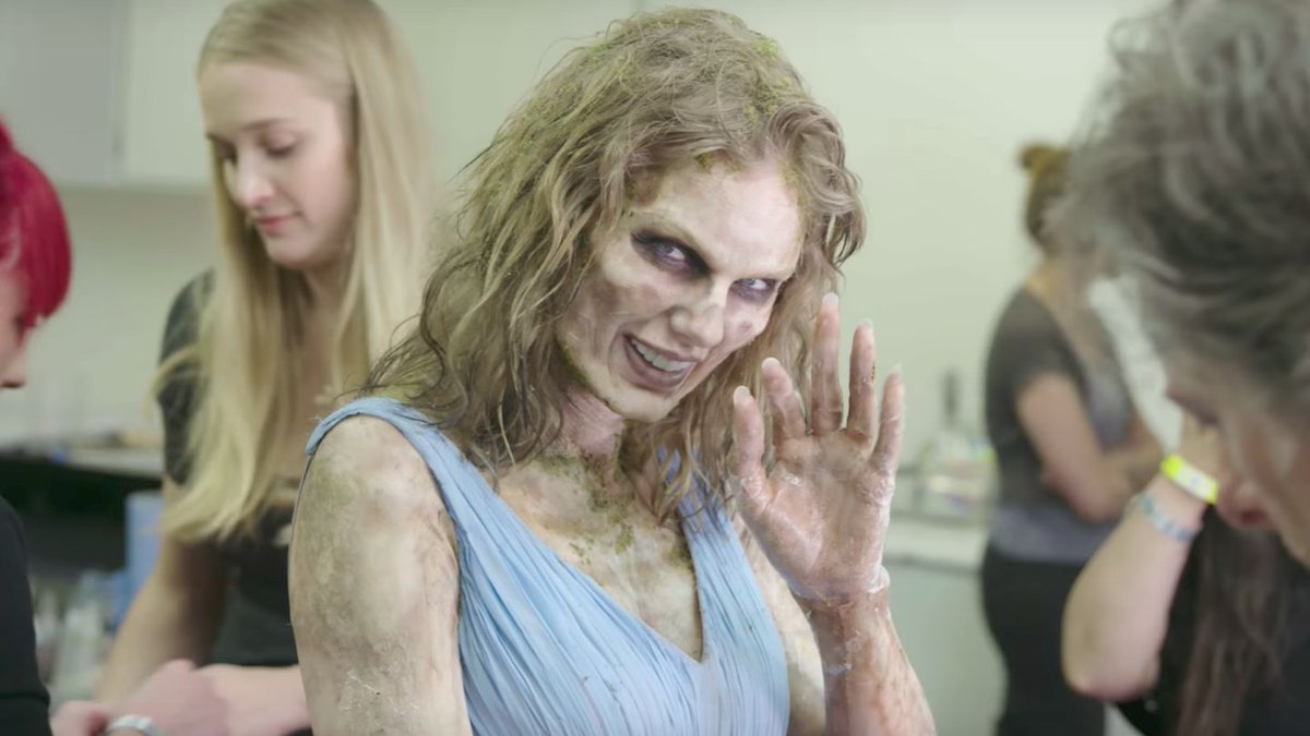 Watch Taylor Swift Transform Into A Zombie For 'Look What You Made Me Do' Video