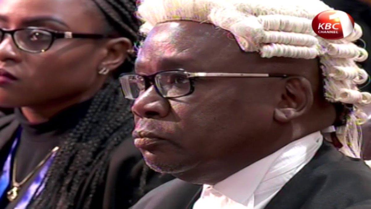 Nyeri Town MP Ngunjiri Wambugu files a petition to remove CJ Maraga from office