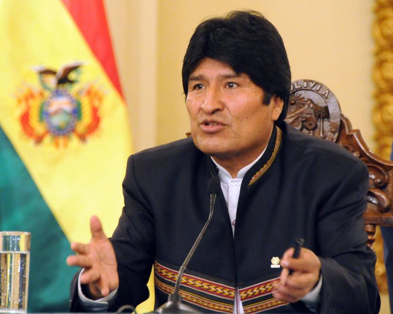 Evo confirma que Bolivia acompañará el diálogo en Venezuela https://t.co/4AvHxERBem #VenezuelaGanaConElDialogo https://t.co/58DGgDP3P4