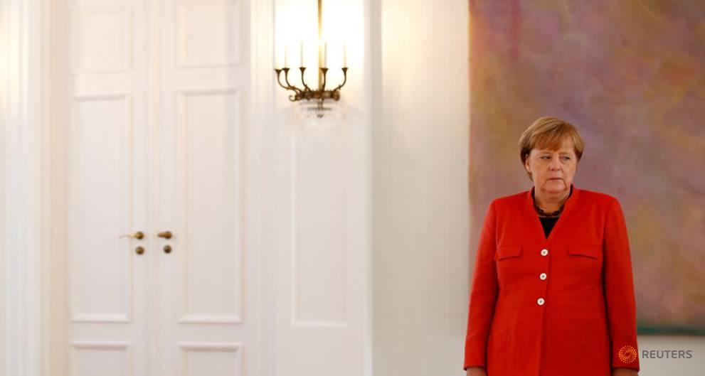 Merkel allies fret over former East Germany's rightward shift