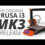 Original Prusa i3 MK3: the Smartest 3D Printer!