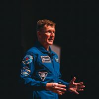 Astronaut, Major Tim Peake, touches down in York
