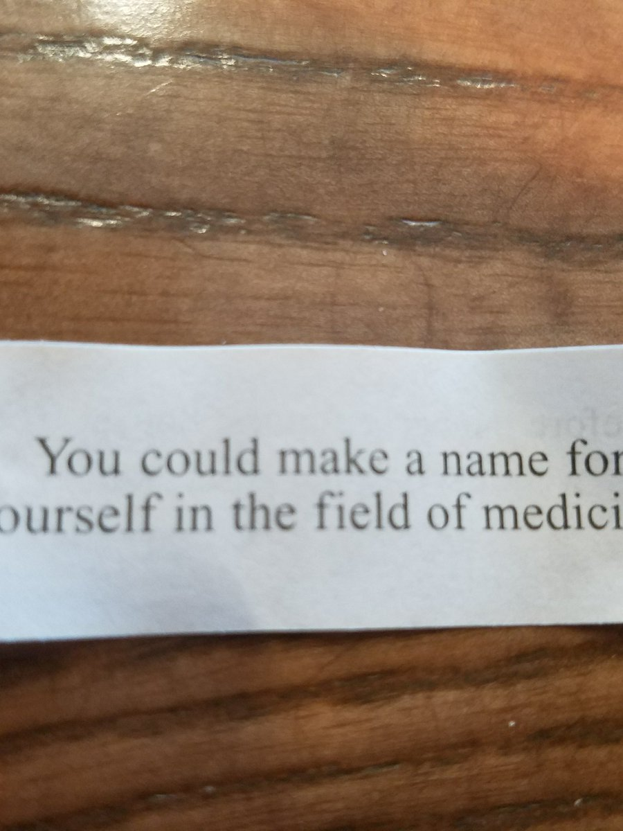Please be a good omen #fortune