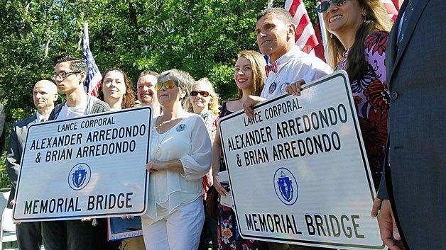 JP Bridge Renamed For Late Sons Of Marathon Bombing Hero CarlosArredondo
