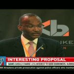 Banks should charge less interest to good borrowers - Patrick Njoroge