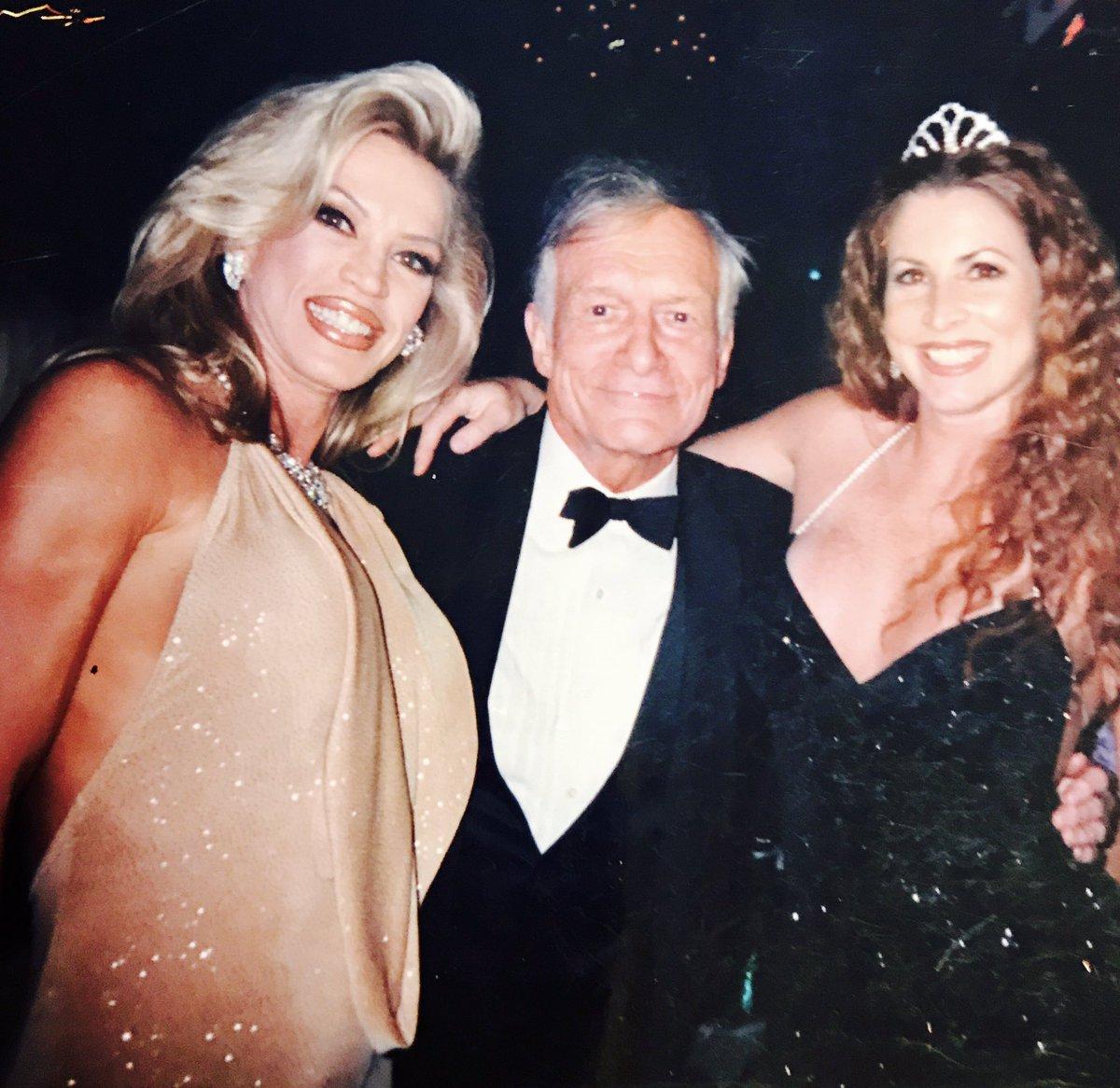#RIPHef (myself with Hef, & Shanna) many memories of your Wonderful legacy, my heartfelt condolences