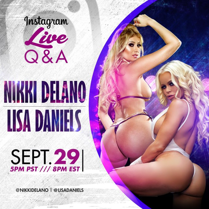 Join @lisadaniels3 & I tom afternoon for our live Q & A on Instagram live https://t.co/jj5X2dG52i