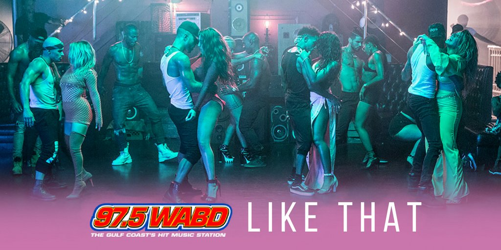 All the love to @975wabd for adding #HeLikeThat! https://t.co/kkl7Vsy4Pp