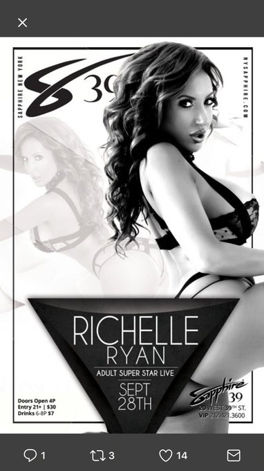On my way to @SapphireNYC39   Let's do this NYC!!!! Can't wait to see all my NYC Fans & Friends tonight
