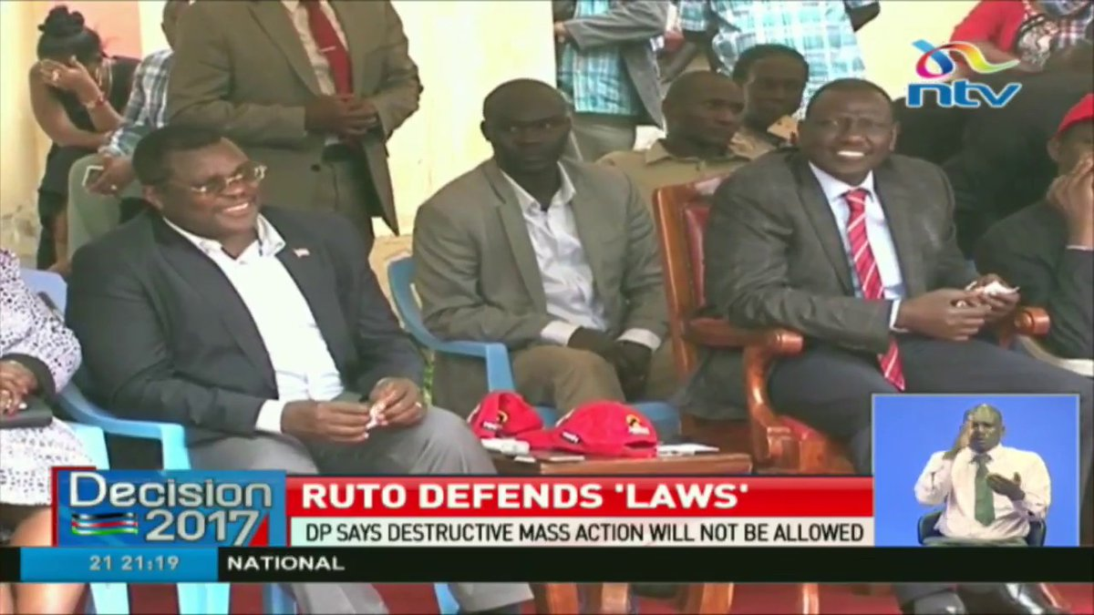 Amendments to election law meant to ease poll management - DP Ruto