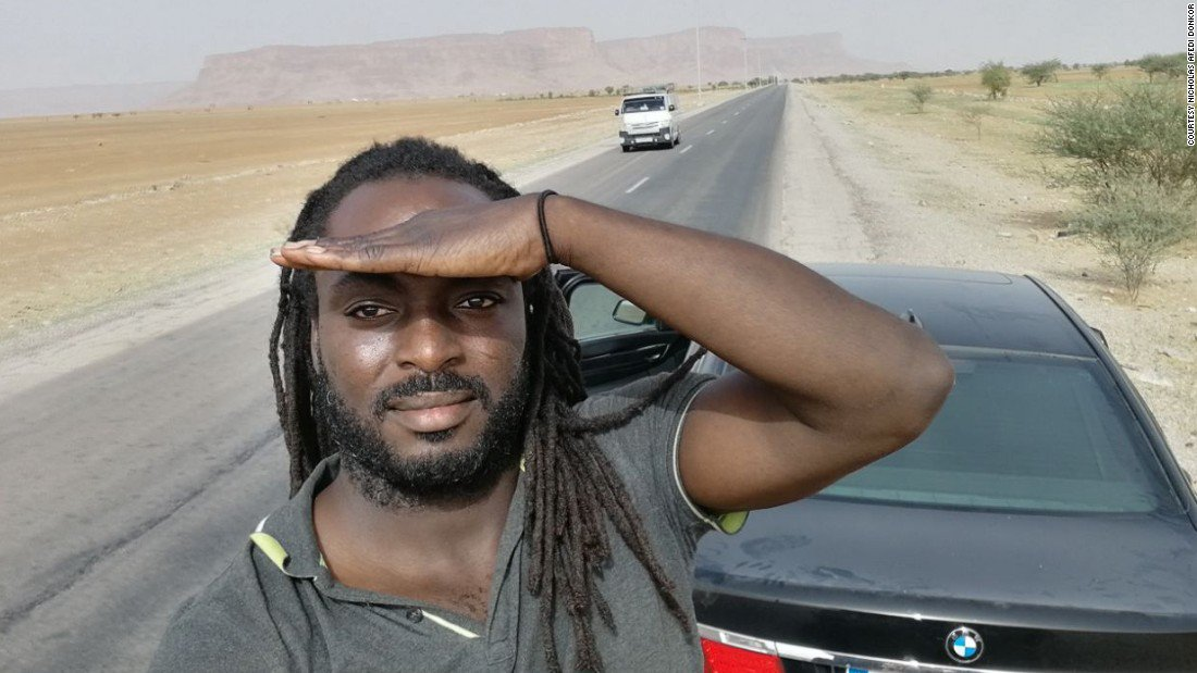 Doing it for Ghana: Man's epic 4,900-mile road trip from Paris to Accra