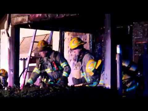 House fire, Linwood Ave., Waterloo, Iowa Sept. 27, 2017