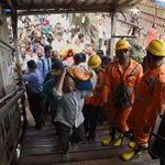 More than 20 people killed in stampede at Indian railway station