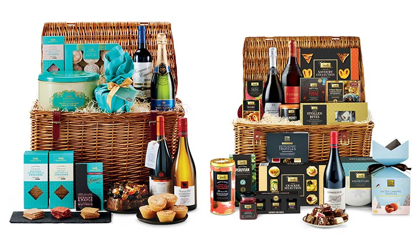 How amazing do these @AldiUK Christmas hampers look?!