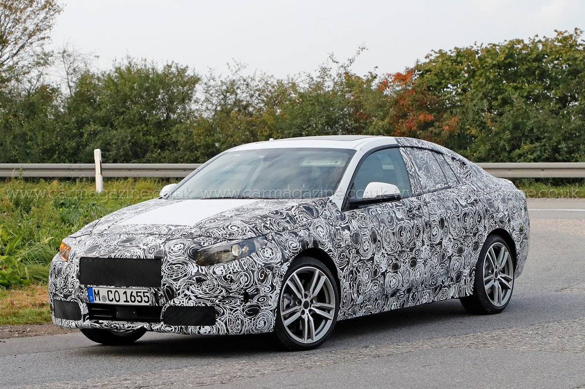 BMW 2-series Gran Coupe spied: BMW's littlest saloon coming in 2020