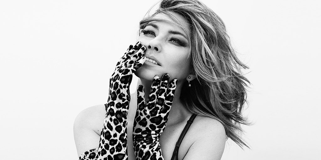 She's Still the One. Listen to @ShaniaTwain's first album in 15 years 'Now' https://t.co/SD2a5koeDY https://t.co/6sHJJCNTGV