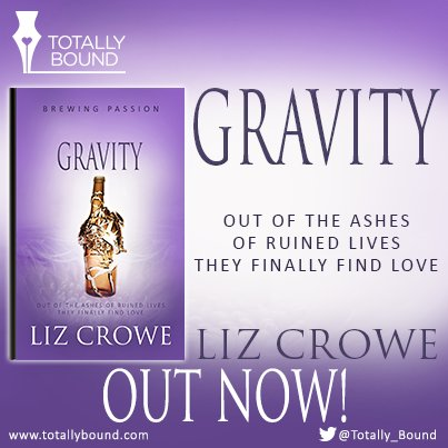 Happy book birthday to in the Brewing Passion series Gravity by Liz Crowe