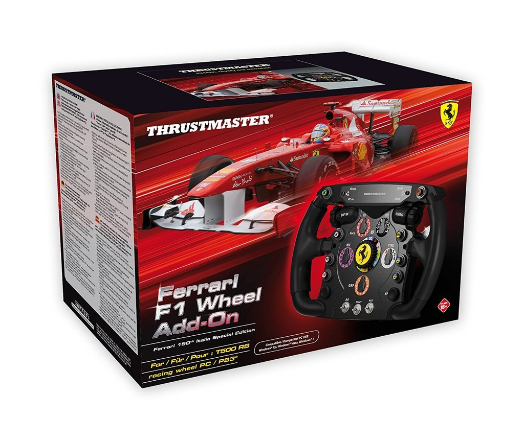 Complete your #F12017 gaming set up with this #Thrustmaster #XBOXONE #F1 Ferrari Wheel! https://t.co/CAuCEHhJIj https://t.co/whDcKTzYrj