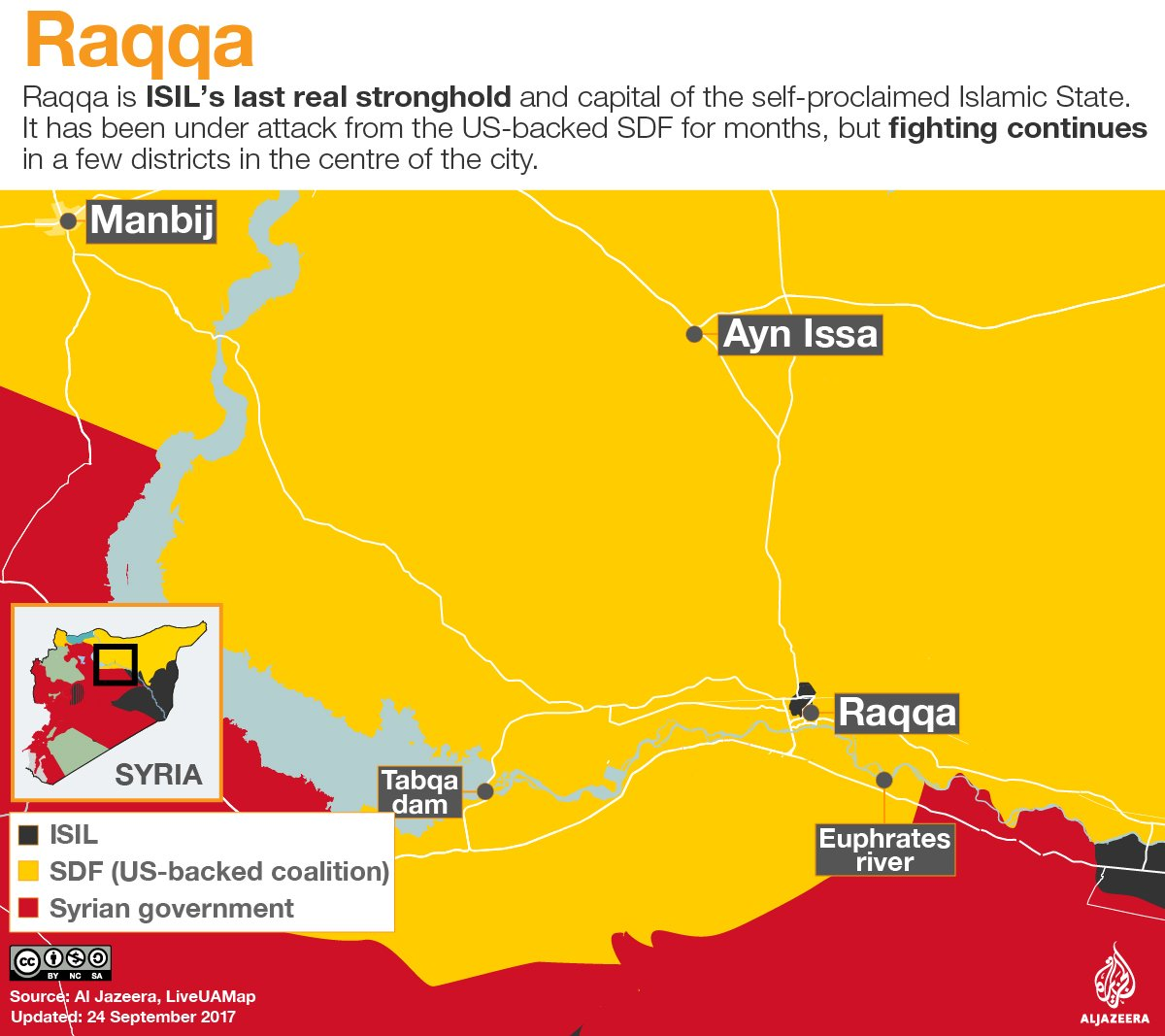 Here are Syria's remaining battles: