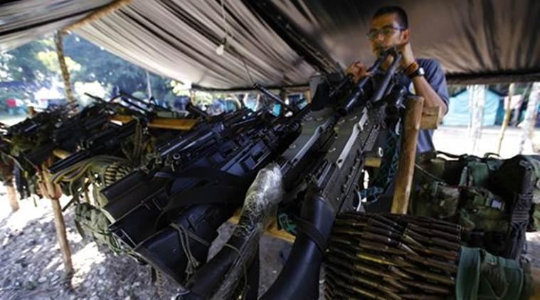 Colombia's ELN rebel commander orders ceasefire beginning Sunday