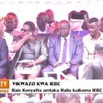 Rais Kenyatta amtaka Raila Odinga kuikoma IEBC