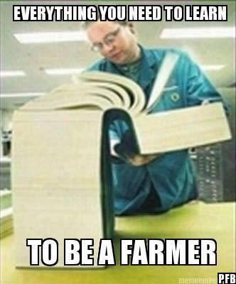 #Farmer=scientist, engineer, mechanic, computer...