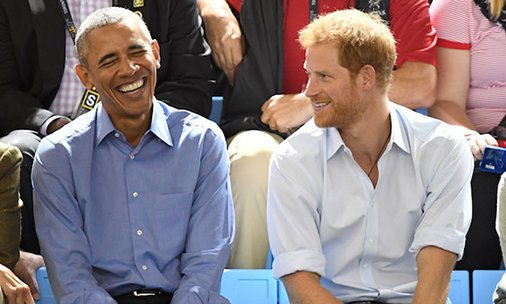 See photos of Prince Harry and Barack Obama at the Invictus Games!