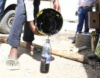 Ugandans, Somalis turn Lokichar into crude black market amid Tullow's denial