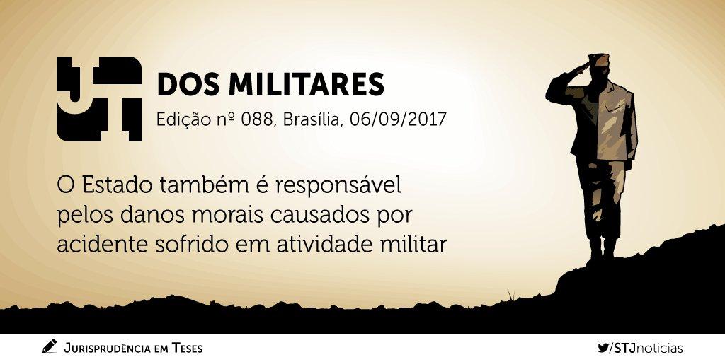Confira a edição nº 88 do #JurisprudênciaEmTeses, que reúne teses sobre Militares.