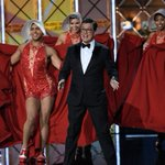 Review: Colbert opens strong and mocks favorite target Trump in first turn as Emmy host