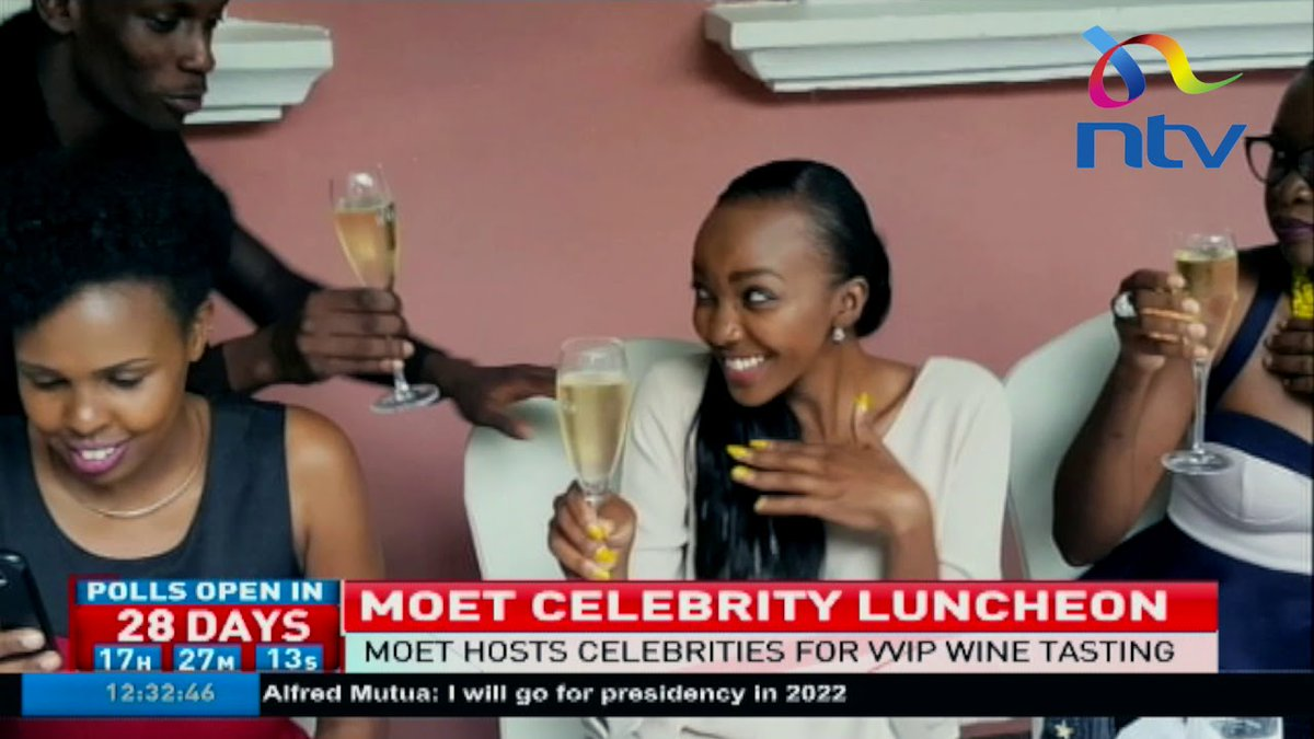 Moet hosts celebrities for a VVIP wine tasting event at Villa Rosa Kempinski