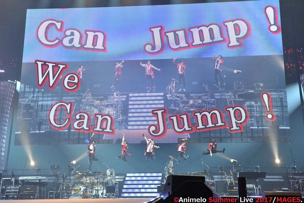 High×Jokerさん(アイドルマスターSideM)のアニサマステージ写真。これお気に入りなんですよねー。昨年の地球防